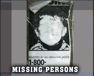 missing persons Gordon